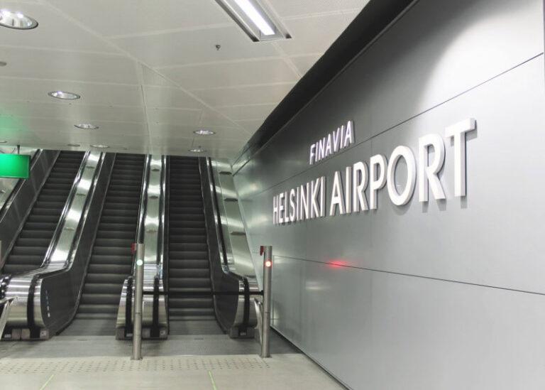 Versablock Helsinki Airport irtonaiset kirjaimet